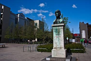 Berlin - GWF Hegel monument by StaP1