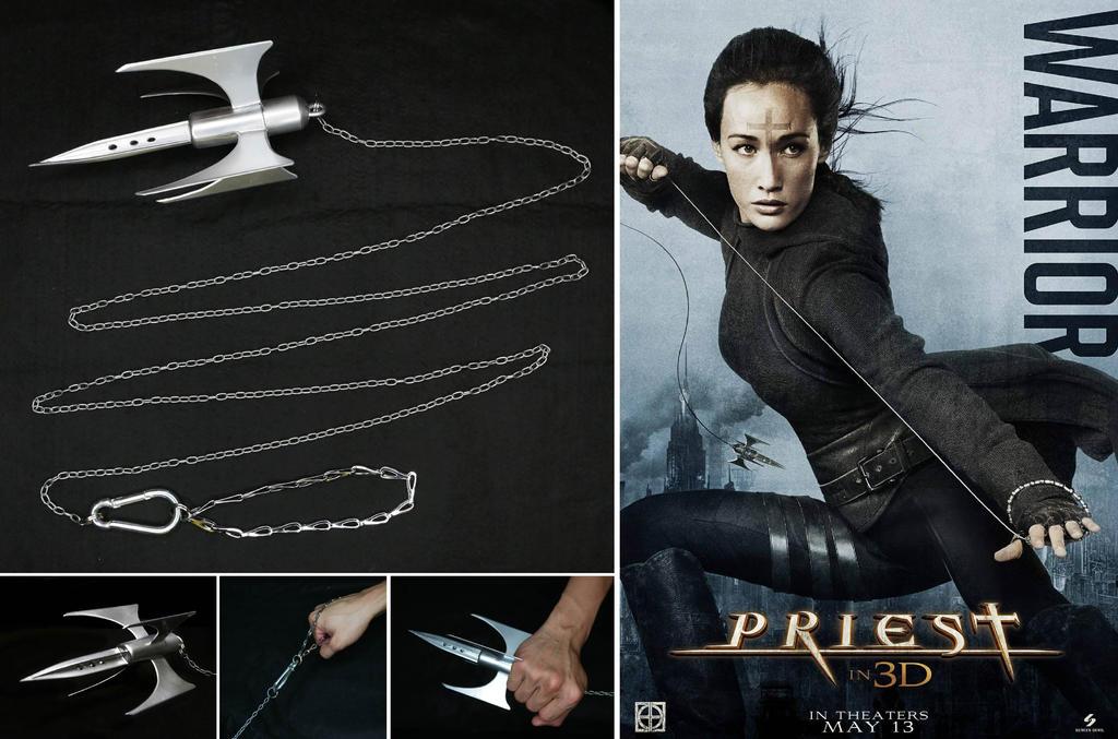 Priestess' Weapon by tkyzgallery