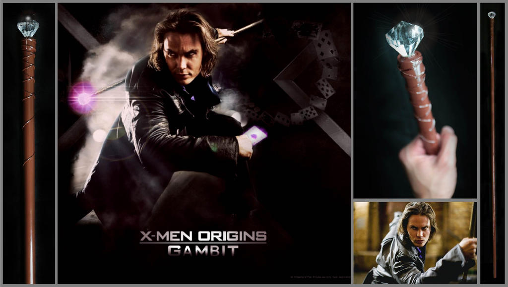 Gambit's Staff, X-Men Origins by tkyzgallery