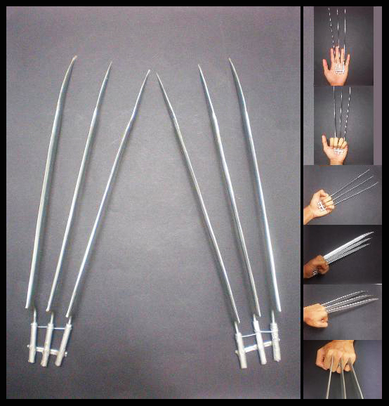 Wolverine Claws by tkyzgallery
