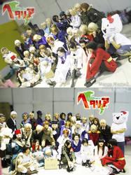 APH-cosplay:Marukaite Chikyuu by Klunatic