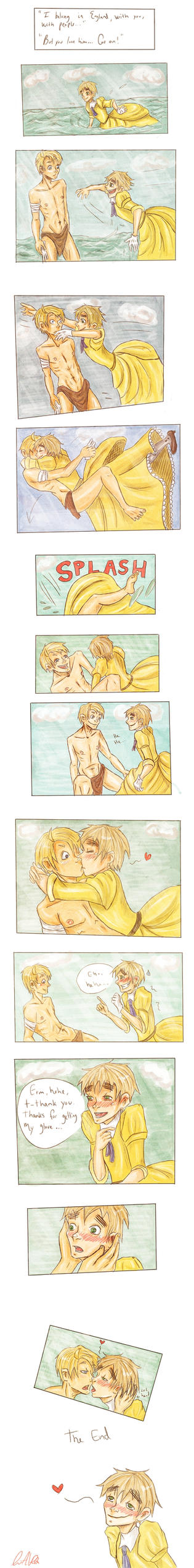 USUK Tarzan crossover COMIC by clarex-ama on DeviantArt