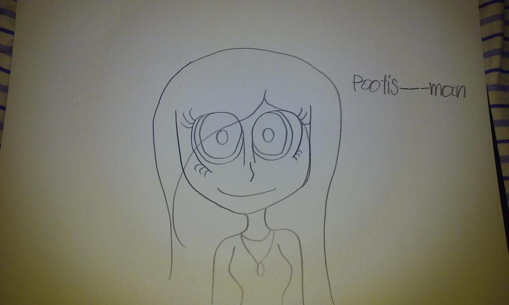how i draw my online friends  by misskittykat345