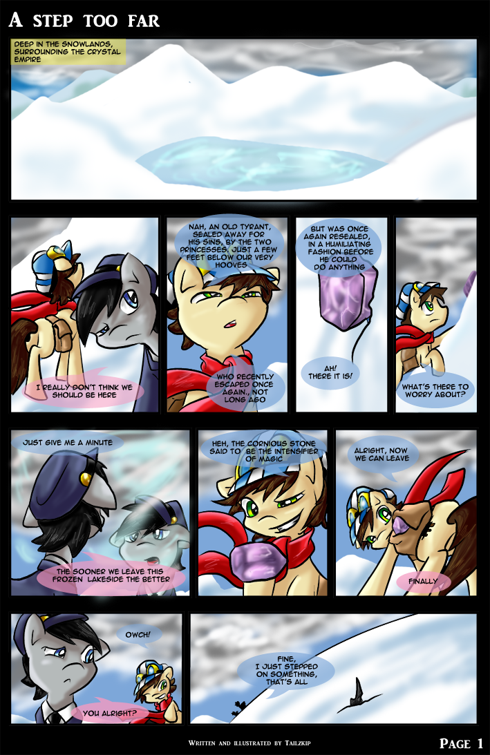 A Step Too Far - page 1 by Tailzkip
