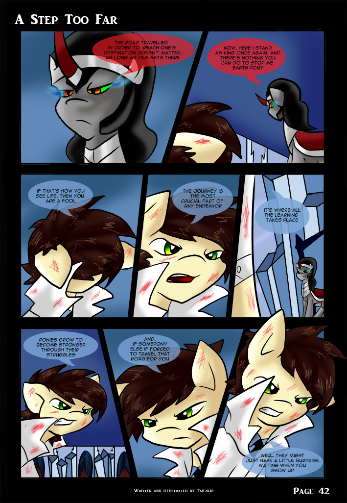 A Step Too Far - page 42 by Tailzkip