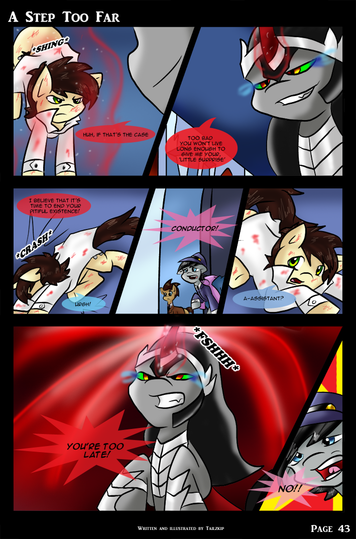 A Step Too Far - page 43 by Tailzkip