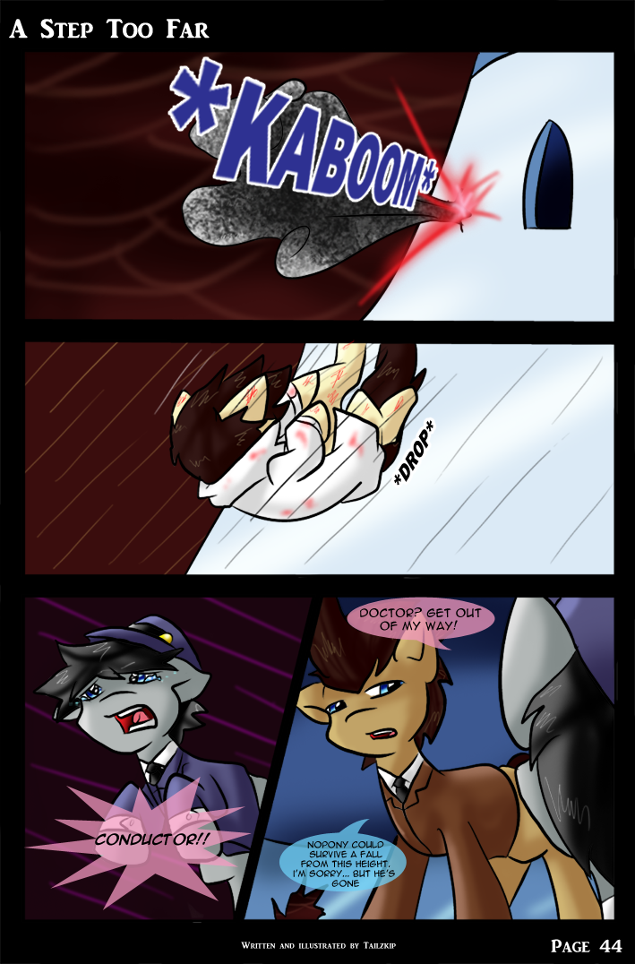 A Step Too Far - page 44 by Tailzkip