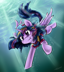 Twilight, Aqua Pony