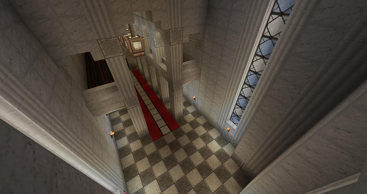 Minecraft Castle Throne Room By The Cold Prince On Deviantart
