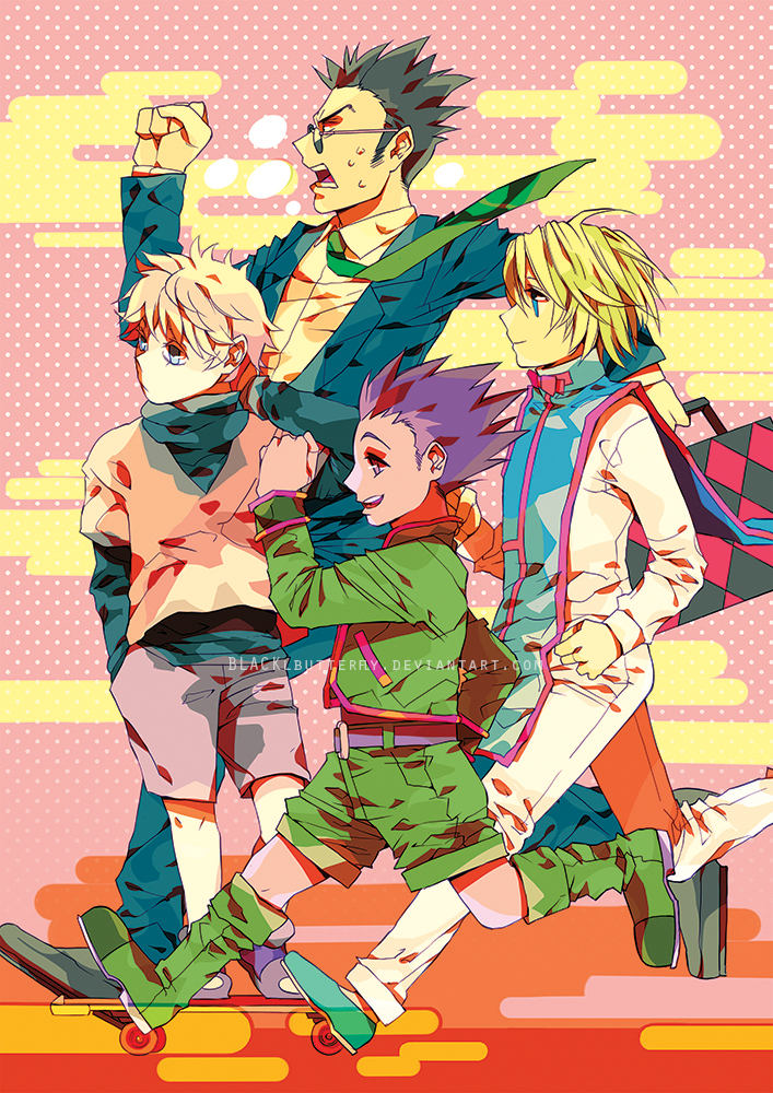 HUNTERXHUNTER: running to infinity! by BLACKlbutterfly