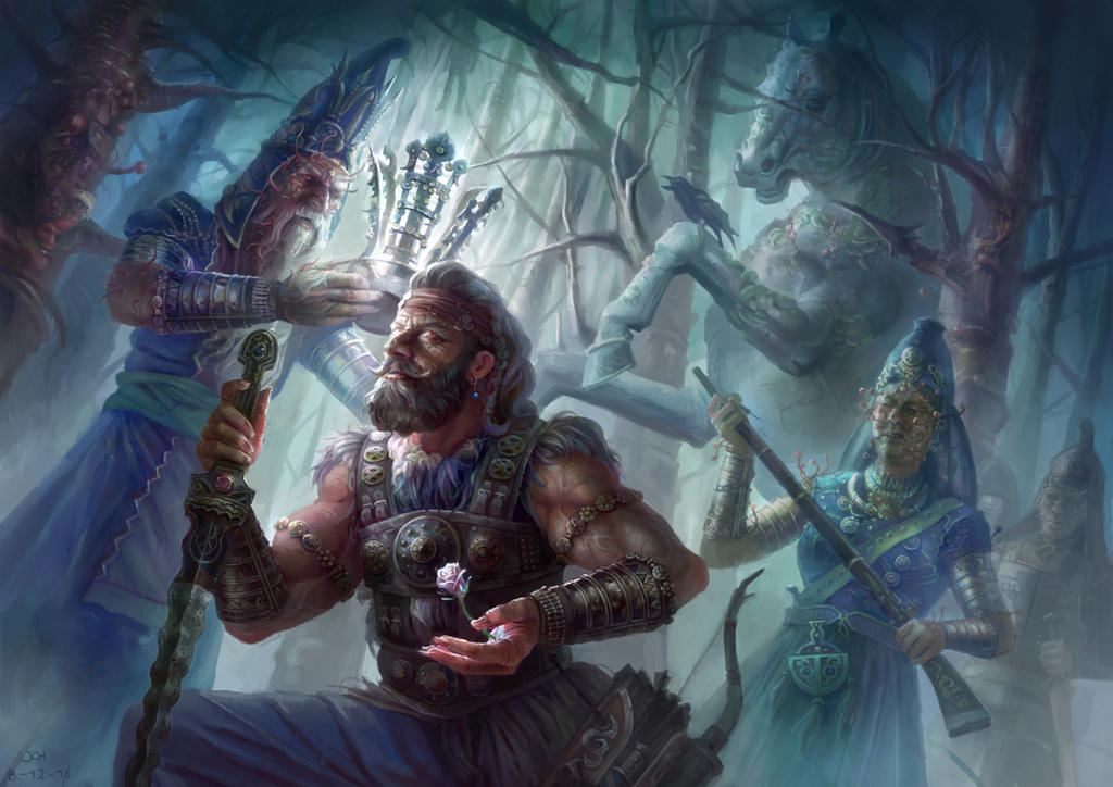 The Cordyceps King by JoelChaimHoltzman