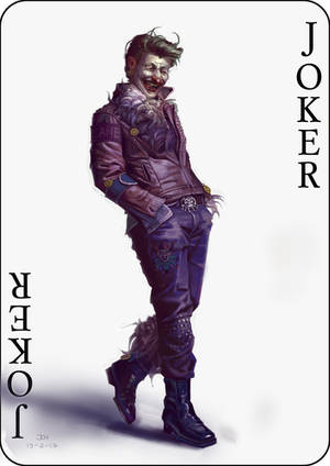 Joker Redesign by JoelChaimHoltzman