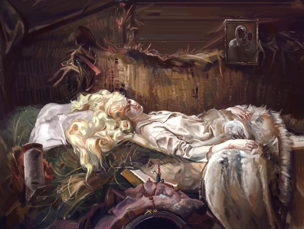 Death of Ellenai by JoelChaimHoltzman