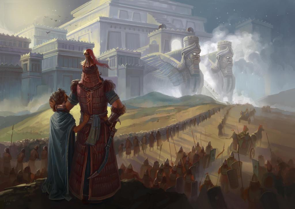Son of Nineveh by JoelChaimHoltzman
