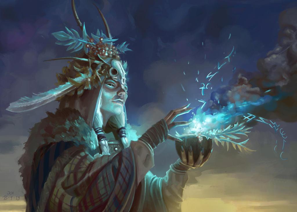 Sami Druid by JoelChaimHoltzman