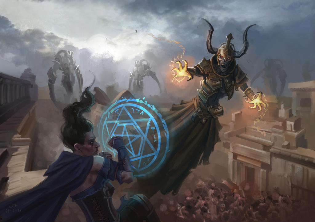 War of the Lich Wizards by JoelChaimHoltzman