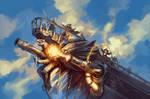 Skyship Spell Cannon