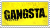 Gangsta Anime Stamp by SeiichiroYogaLBX21