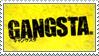 Gangsta Anime Stamp by SeiichiroYogaLBX21