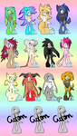 Big girl adopts batch#6(OPEN 8/12) by JuffyMeister