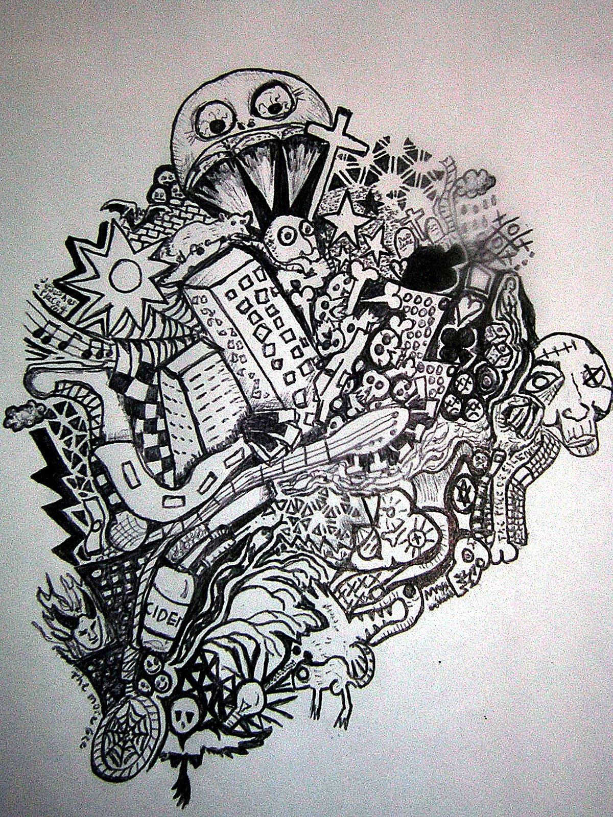 √ 30 Gambar Doodle Keren Beserta Cara Membuatnya