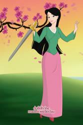 Mulan by thegreenyeun95