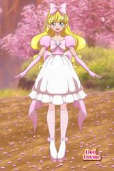 Peach Toadstool Anime version