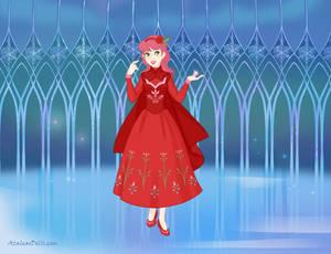 Amy Rose as a magician princess