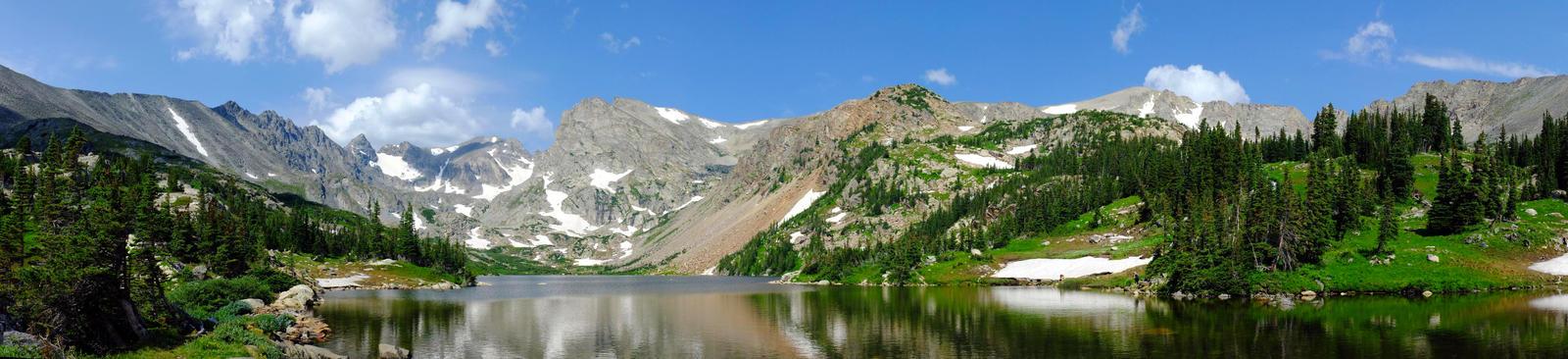 Mid summer at Indian Peaks by Kolnithur