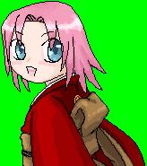 Haruno Sakura by girlinblack