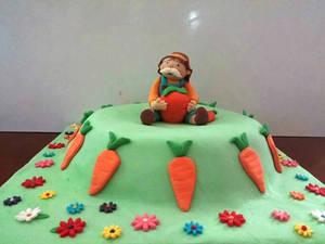 Grandpa and his carrot cake :)