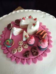 Fondant sweets