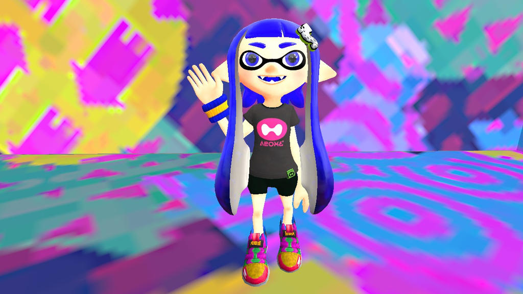 My inksona in 3D by Blueponypower