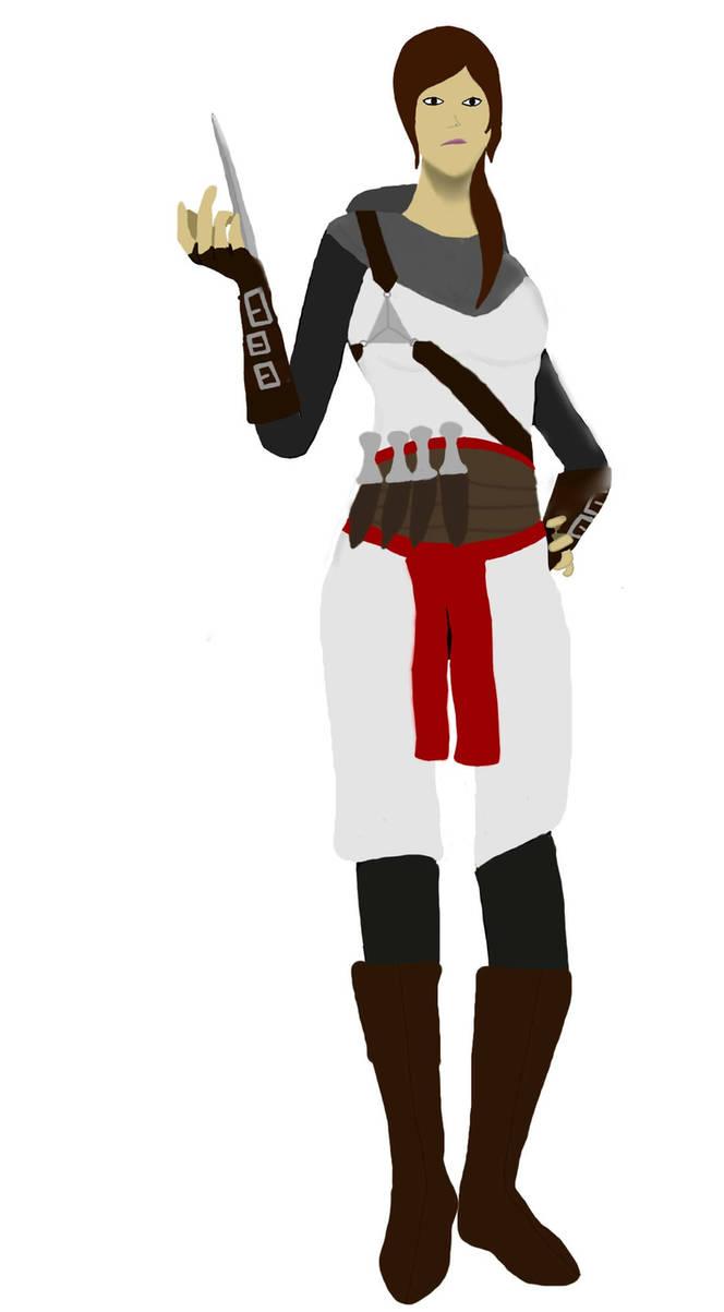 Kathryn.   Assassins Creed OC : UPDATED