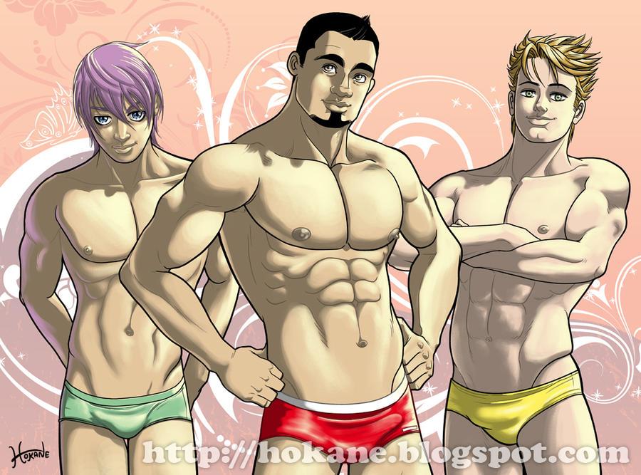 Nayam, Borja y Mario