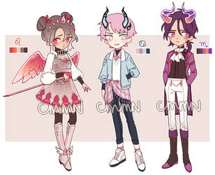 ADOPTS - Glastella CS [CLOSED] by cmmn