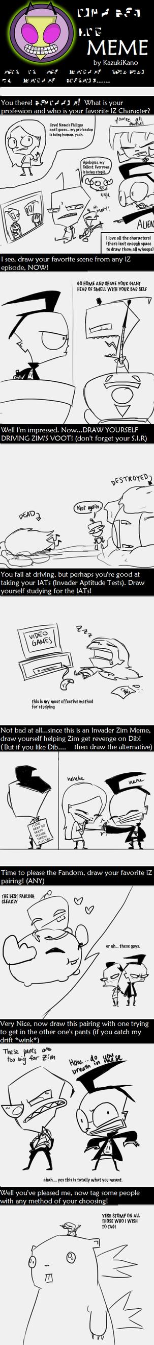 Invader Zim MEME by outlandishgreen