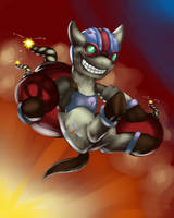 Ziggs Pony by foxshine