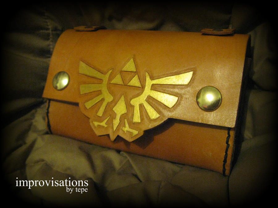 Zelda Triforce Bag by Merice