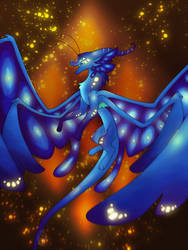Blue Of The SilkWings