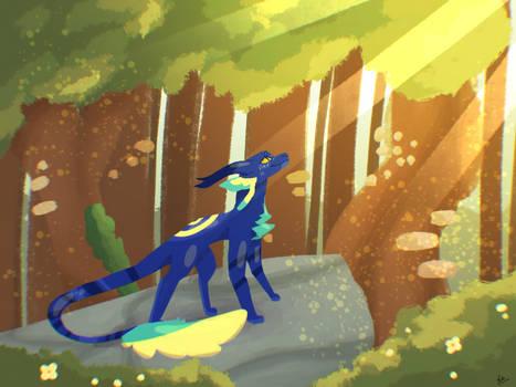 Sunlit Forest (REDRAW)