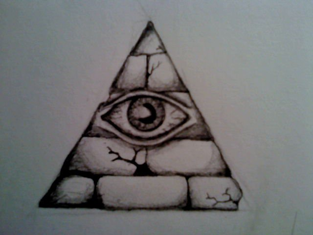 all seeing eye by sK3tch75 on DeviantArt