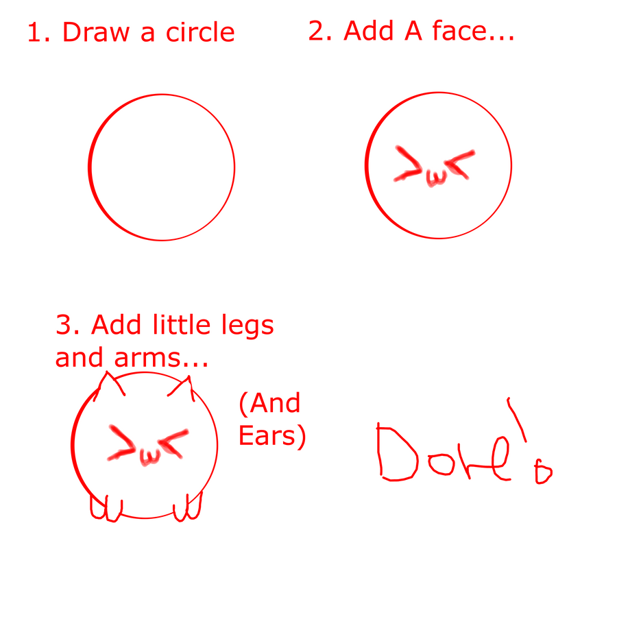 How To Draw A Chibi Sphere Animal Adoptable Tut By Lenskennel Anime)