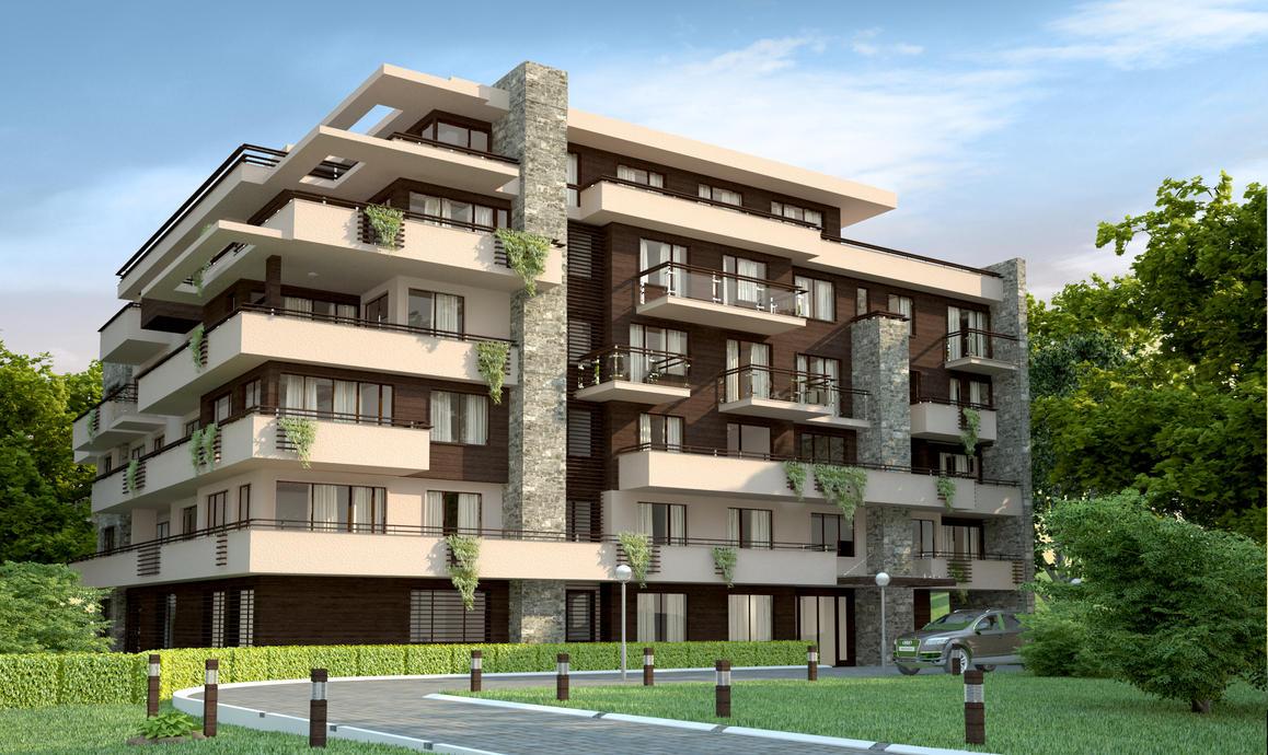 Http Smartdrv Deviantart Com Art Residential Building View2 103012376