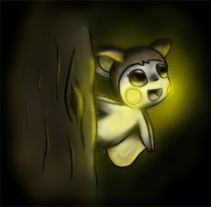 Shiny Emolga by BrutakaBlaziken
