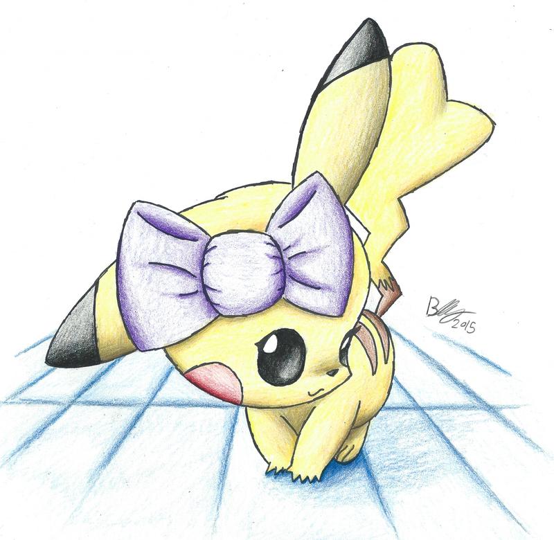 Pikachu by BrutakaBlaziken