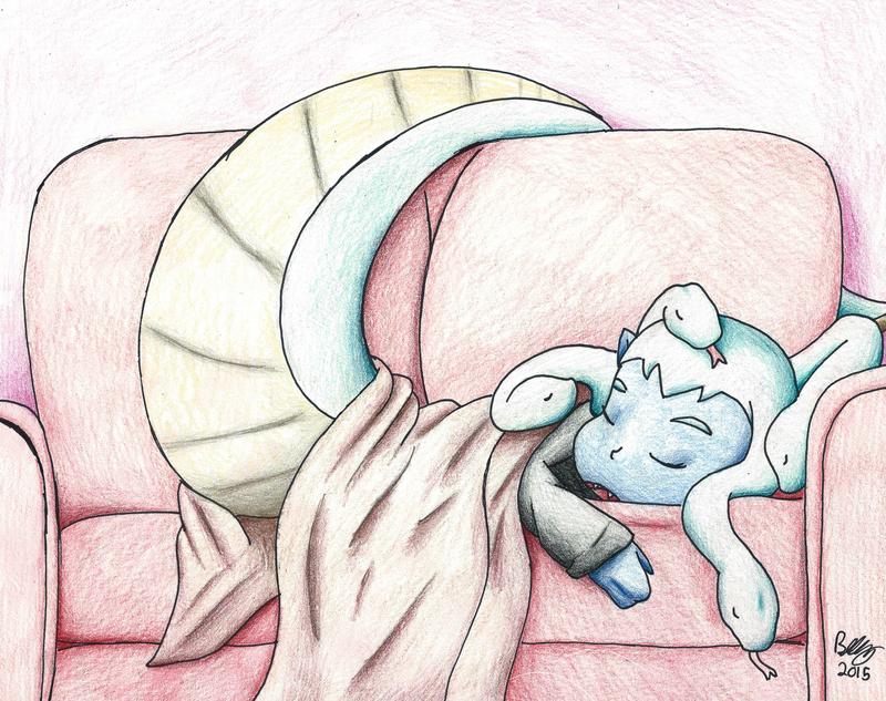 Sleepy Snakey by BrutakaBlaziken