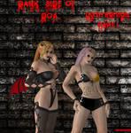 DOA5 Goth Helena and Sarah