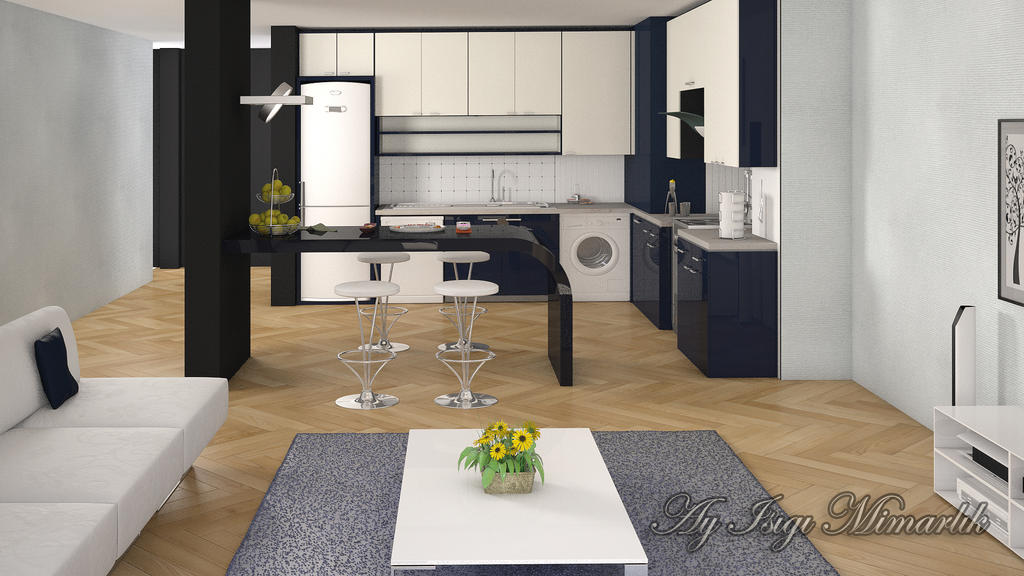 American Kitchen By Regenerative On Deviantart