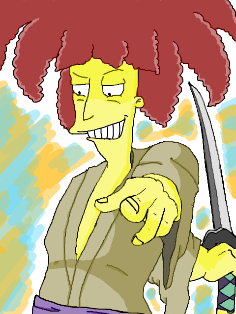 Sideshow bob_The Simpsons by Sideshow-M